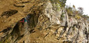Plezanje po Istri, November 2020
